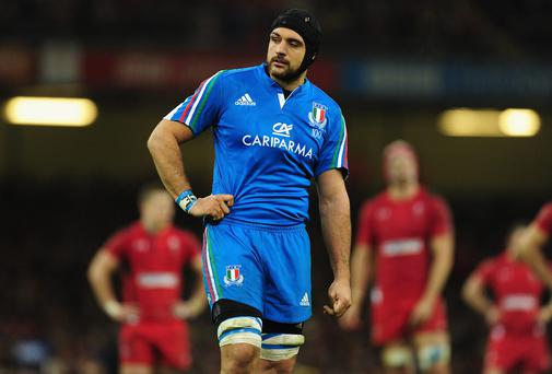 Italy captain Marco Bortolami: 'We have to make sure we turn up'