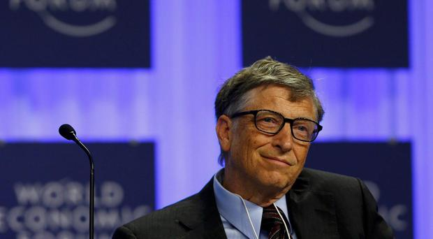 Microsoft founder Bill Gates pictured at the World Economic Forum (WEF) in Davos January 24, 2014.