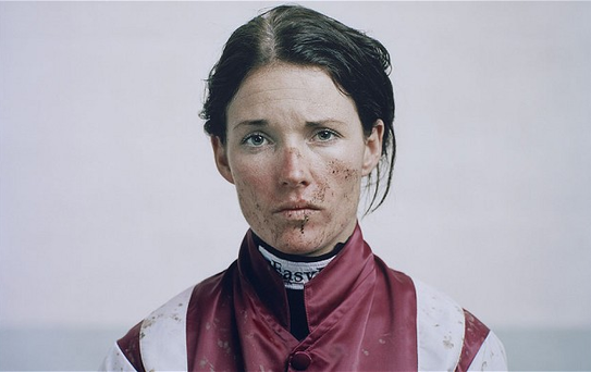 The eyes have it: the famous award-winning portrait of Katie Walsh Photo: SPENCER MURPHY/COUNTOUR BY GETTY IMAGES