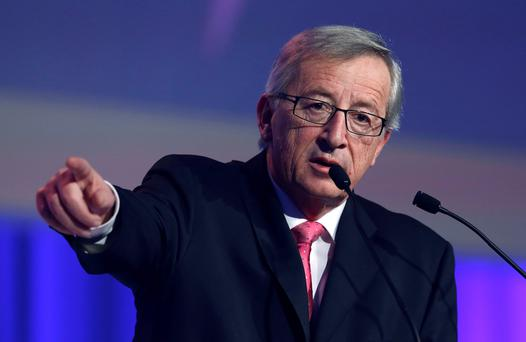 Former Luxembourg prime minister Jean-Claude Juncker. REUTERS/Suzanne Plunkett