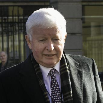 Rehab director Frank Flannery at Leinster House