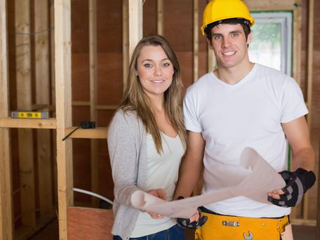 School leavers swing back to law and construction courses. Picture posed. Thinkstock