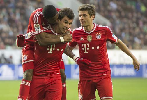 Bayern Munich are in imperious form and could complete an unblemished Bundesliga season