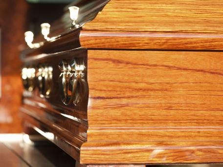 Oak coffins. Thinkstock