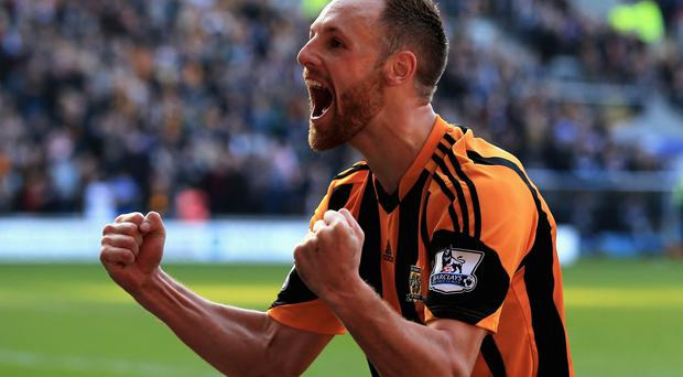 David Meyler of Hull City celebrates