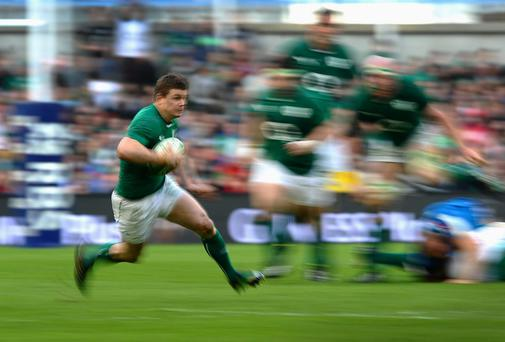 Brian O'Driscoll, unsurprisingly, makes the team at outside centre