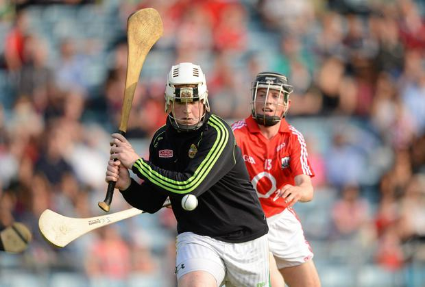 Offaly native Eoin Kelly scored for London