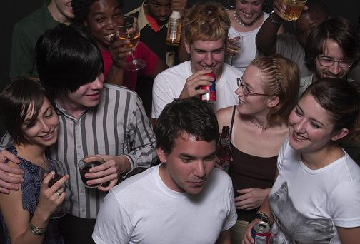 Undergraduate fraternities are often associated with binge drinking and rowdy parties