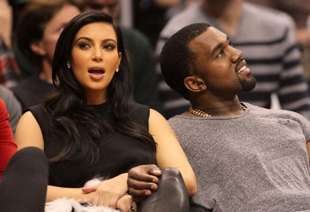 The rapper and fiancée Kim Kardashian are said to be huge fans of the legendary R&B singer (Photo by Victor Decolongon/Getty Images)