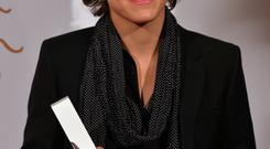 British singer Harry Styles of band One Direction