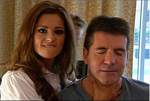 Cheryl and Simon reunited as the singer is set to make her X Factor return. (Instagram/ Cheryl Cole)
