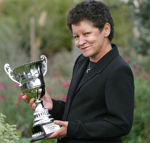 Christine Buckley was presented with the European Volunteer of the Award in 2009