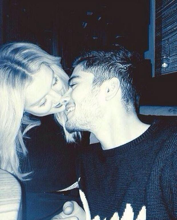 Perrie recently posted this photo of herself and fiance Zayn Malik online (Photo: Instagram/Zayn Malik)
