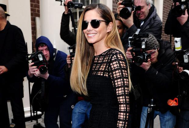 Cheryl Cole arrives in London for an announcement on her rejoining the X Factor judges panel