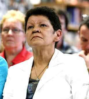 Christine Buckley. Picture: Julien Behal/PA Wire