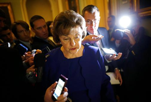 U.S. Senator Dianne Feinstein chair of the Senate's Intelligence Committee