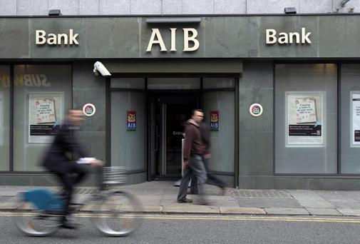 AIB has written off €150k loan. Photo: Niall Carson/PA Wire