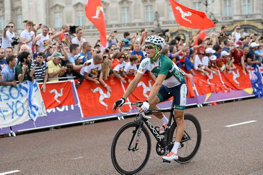 Ireland's Nicolas Roche during the London 2012 Olympic Games