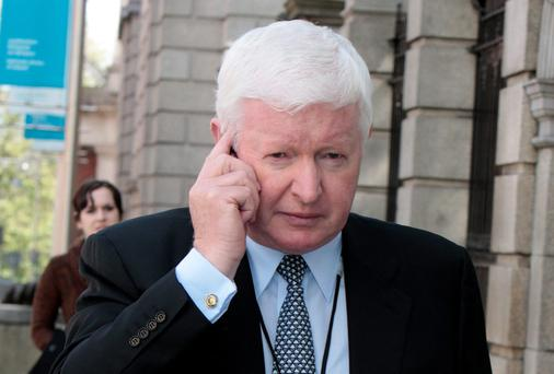 Frank Flannery at Leinster House in 2012. Picture: Tom Burke