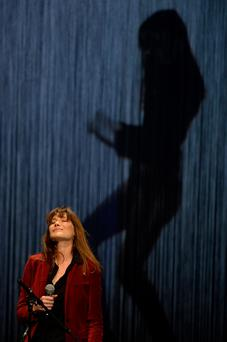 Carla Bruni performs at L'Olympia in Paris, France. Photo: Pascal Le Segretain/Getty Images