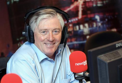 The cash pile at Pat Kenny's media firm jumped last year.
