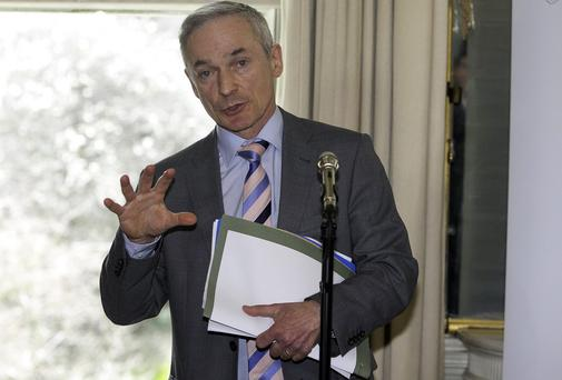 Richard Bruton: He promises the earth, but the State remains the biggest enemy of the Irish consumer.