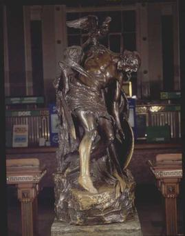 Cuchulainn statue in the GPO
