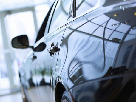 Company car drivers can still avoid points. Picture posed. Thinkstock