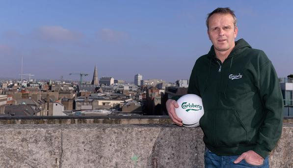 Former Liverpool star Dietmar Hamann was in Dublin yesterday to launch the Carsberg #JOINTHEGREATS campaign