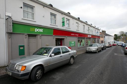 The post office in Oldcastle, Co Meath. Picture Mark Condren