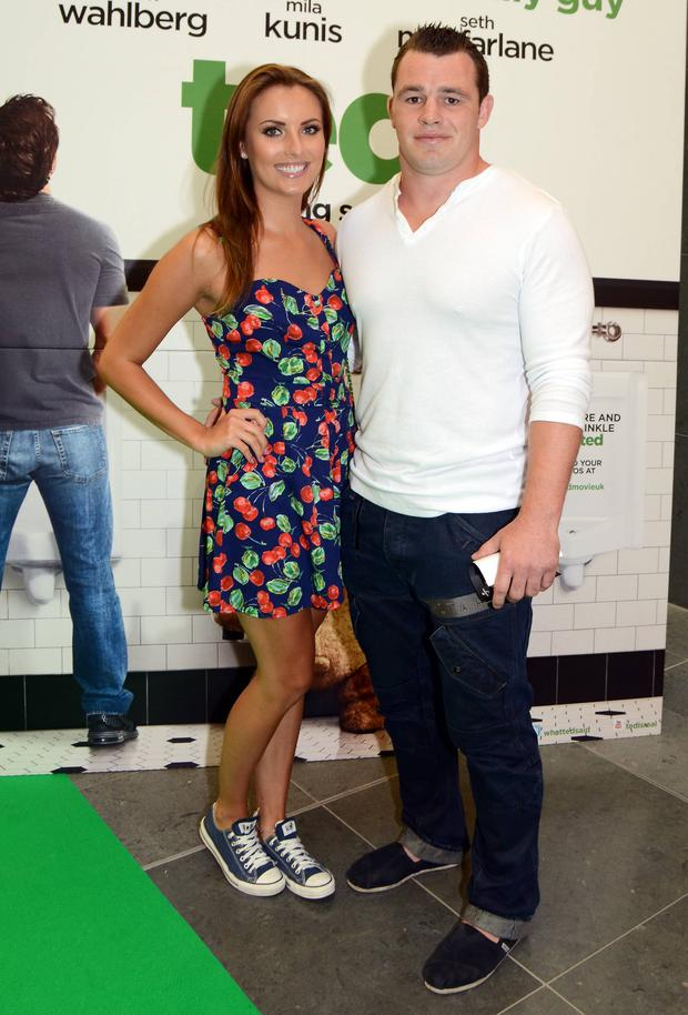 Holly Carpenter and Cian Healy