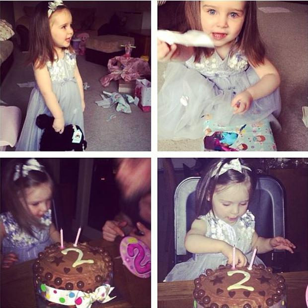 Look Whos Two Una Healy Shares Snaps Of Her Little Girls Birthday
