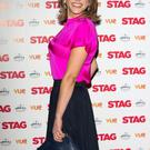 Amy Huberman attends a gala screening of