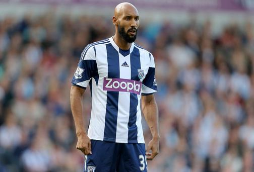Nicolas Anelka has announced on his Twitter account that he is to leave West Brom with immediate effect