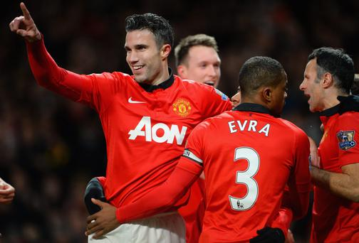 Robin van Persie's vow of commitment to Manchester United could spark a revival