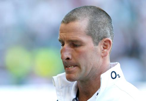 England coach Stuart Lancaster says he is proud of his side's display in Rome.