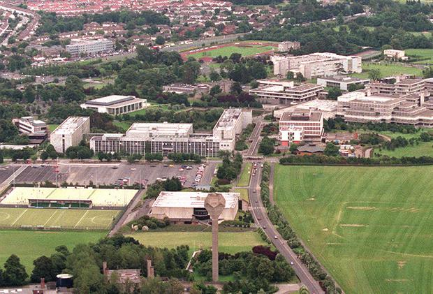 The UCD campus