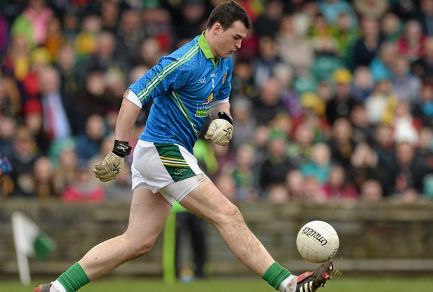 Meath's Patrick O'Rourke in the Allianz Football League Division 2