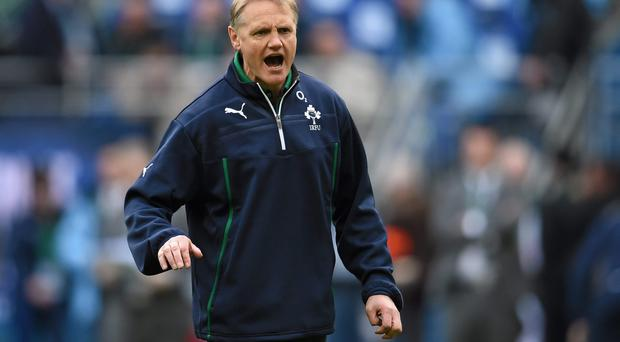Ireland head coach Joe Schmidt. RBS Six Nations Rugby Championship 2014, France v Ireland
