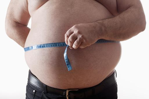 37pc of the Irish adult population are overweight