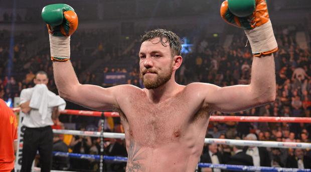 Andy Lee will fight in Denmark for the first time next month