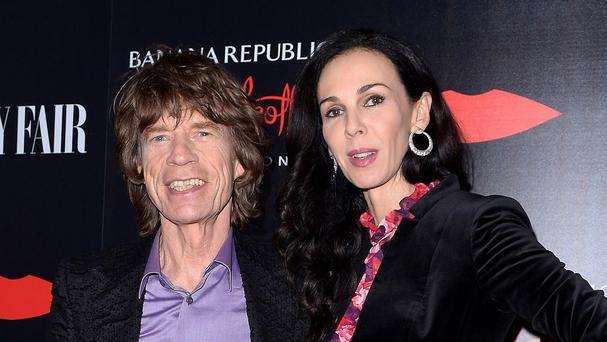 Mick Jagger with girlfriend L'Wren Scott, who has been found dead