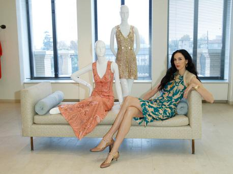 Designer L'Wren Scott attends Barneys New York Hosts LACMA For Tea With L'Wren Scott And Adam Glassman at Barneys New York Beverly Hills on November 18, 2011 in Beverly Hills, California. (Photo by Donato Sardella/WireImage)