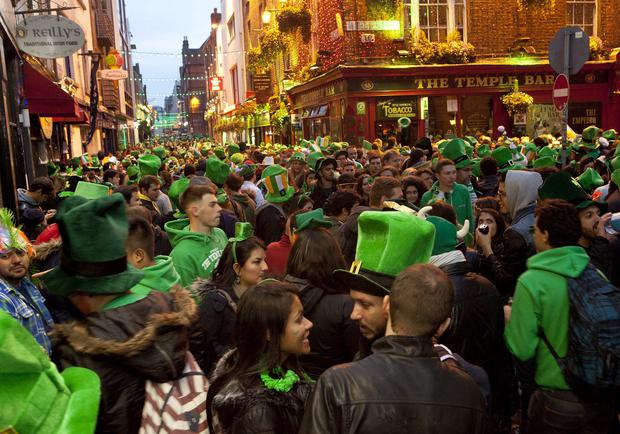 We may not do very many things particularly well in this country, but we've long had a tradition of excelling at absurdity and events don't come more absurd than St Patrick's Day, the national celebration that invariably turns into a cause of national embarrassment