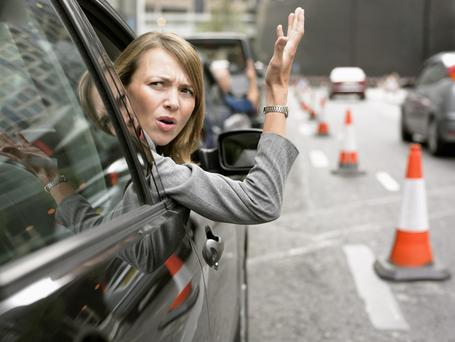 The new system could warn you before you lose your temper behind the wheel. Photo: Getty Images.