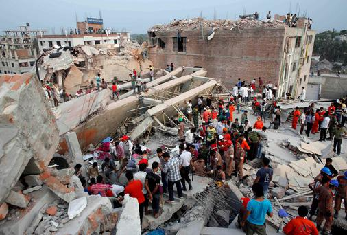 The disaster in Bangladesh killed more than 1,100 people