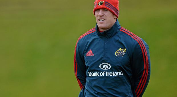 Paul O'Connell is back with the Munster squad after Ireland's Six Nations success
