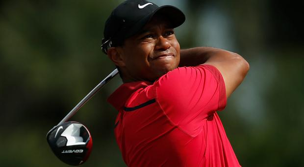 Tiger Woods during the World Golf Championships-Cadillac Championship at Trump National Doral on March 9. Photo: Getty Images