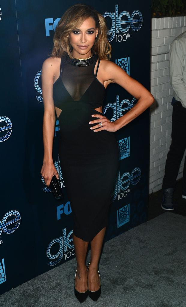 Actress Naya Rivera attends Fox's