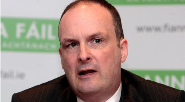 Fianna Fail General Secretary Sean Dorgan
